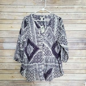 Lucky Brand Top 1X NEW NWT